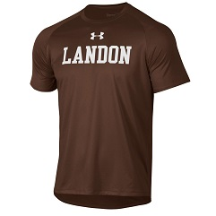 Brown Under Armour Tech Tee